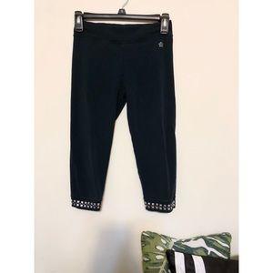Black Cotton Leggings (Kids 18)